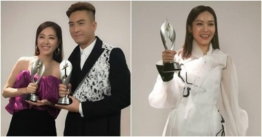Kenneth Ma and Natalie Tong Clinch Best Artiste at StarHub Awards