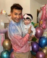 Ruco Chan's daughter's first birthday