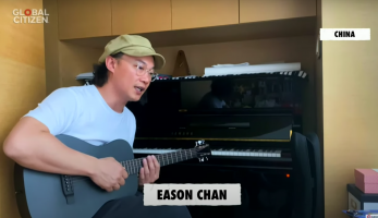 Eason Chan performs I Have Nothing