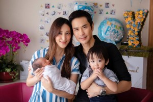 Grace Chan and Kevin Cheng Welcome Baby Yannick